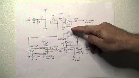 tiny tv circuit theory  operation youtube