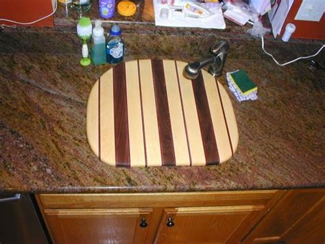 Hand Made Over-the-sink Cutting Board By The Plane Edge