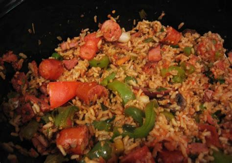 easy crock pot jambalaya recipegreat