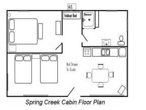 cabin floorplans creek cabin floor plan