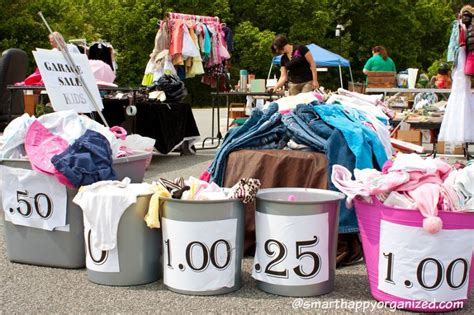 How To Organize An Epic Garage Sale And Make 0