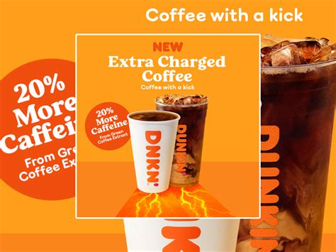 Mcdonald's usa nutrition facts for mccafe coffees mcdonald's usa nutrition facts for mccafe coffees we provide a nutrition analysis of our menu items to help you balance your mcdonald's meal with other foods you eat. Dunkin' Pours New Extra Charged Coffee With 20% More Caffeine - Chew Boom