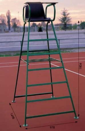 Sedia Arbitro Tennis by Sedia Arbitro Tennis Colore Verde Nero Schiavi Sportit