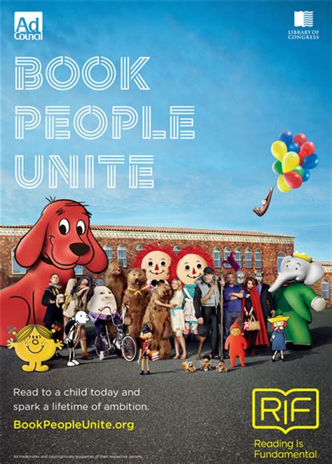 Reading Is Fundamental Launches Book People Unite Campaign