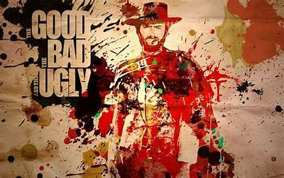 Eastwood Clint Ugly Bad Western Wallpapers Film