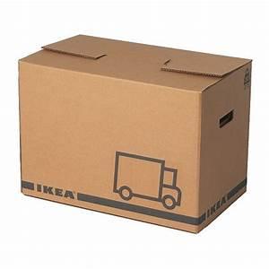 JÄTTENE Packaging box Brown 56 x 33 x 41 cm - IKEA