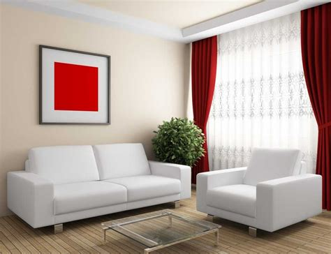 Elegant Red Curtains For Living Room Choose Black And