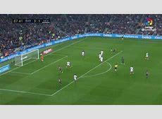 Gol de Rakitic 41 en el Barcelona 42 Sevilla