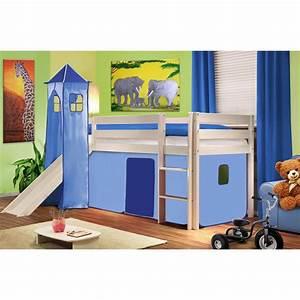 Lit Mezzanine Enfant : lit pour petit garcon maison design ~ Teatrodelosmanantiales.com Idées de Décoration