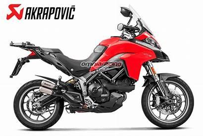 Multistrada 950 Exhaust Akrapovic Ducati 1200 Titanium