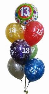 13th Birthday Balloons Helium Balloons Perth 13th