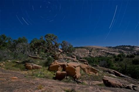 Rock City Enchanted Lights by Enchanted Rock State Natural Area Stargazing Texas Parks