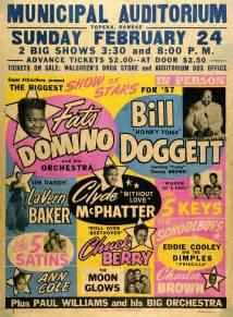 classic   rock  roll concert poster  biggest