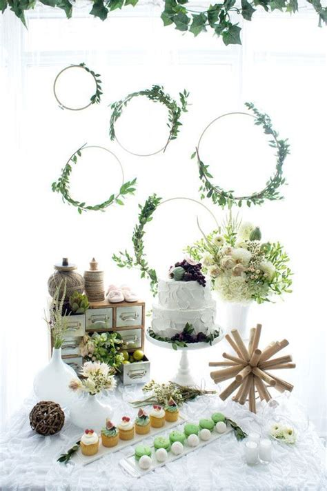 baby shower themes greenery farmhouse rustic
