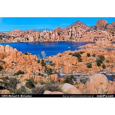 Granite Dells Surround Prescott's Watson Lake Picture