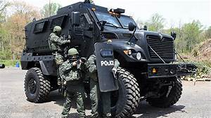 MRAP & Roll: Why Police Need Armored Military-Surplus Rigs