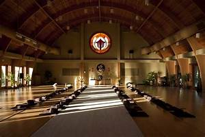Meditation Hall At Deer Park Monastery  Escondido  California