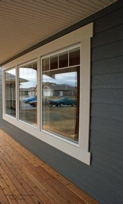 simple exterior window trim    exterior