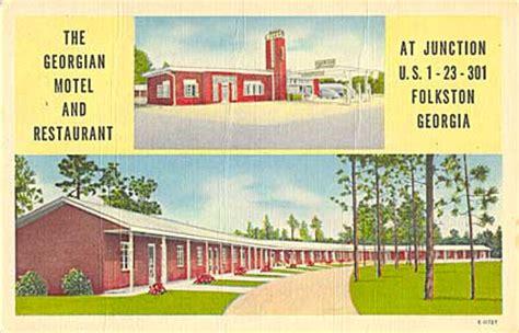 motel morgue site map postcard images   dead motels