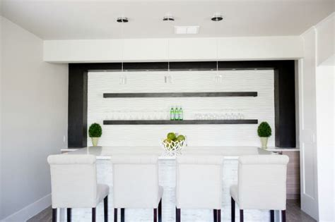 kitchen island with seating for 3 modern home bar oooh la la the house of silver lining