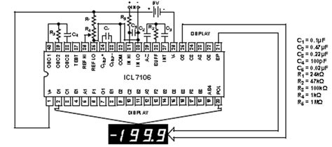 Icl7107  Integrating Display Output Ad Converters Renesas