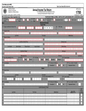 annual tax return form fill printable fillable
