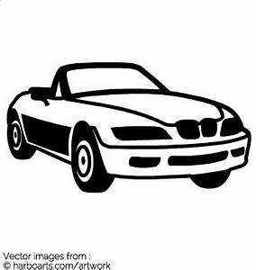 Download : BMW Coupe - Vector Graphic