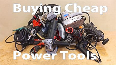 buying cheap power tools woodworking beginners
