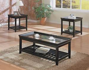 cocktail table sets design homesfeed With black and white coffee table sets