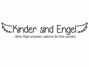 Wandtattoo Kindergarten Spruch Kinder sind Engel