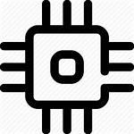 Intel Core Icon Processor Chip Editor Open