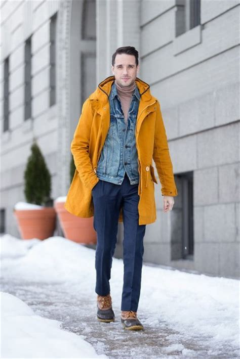 23 Men Outfits With Duck Boots For This Winter - Styleoholic