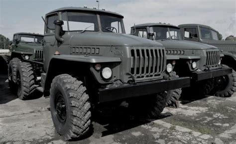 Ural-4320 And Ural-5557