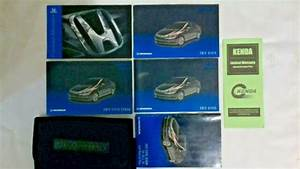 2012 Honda Civic Sedan Owners Manual With Case And