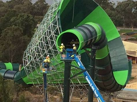 Worlds In Words world s funnel slide coming to adventure world
