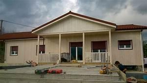 Maison Modulaire Bois : maison en bois modulaire ostabat asme 64 ~ Melissatoandfro.com Idées de Décoration