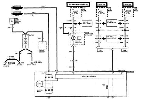 Need Wiring Diagram For Corvette Alternator