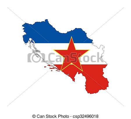 yugoslavia flag map yugoslavia  country national