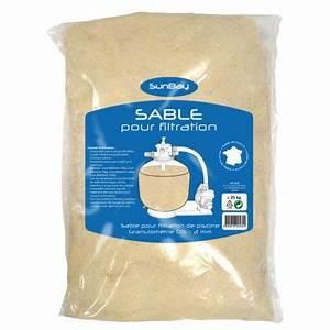 Sable Pour Sableuse Point P : sable de filtration piscine sunbay 25kg castorama ~ Medecine-chirurgie-esthetiques.com Avis de Voitures