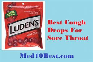 Best Cough Drops For Sore Throat 2019