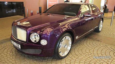 Stunning Purple Bentley Mulsanne