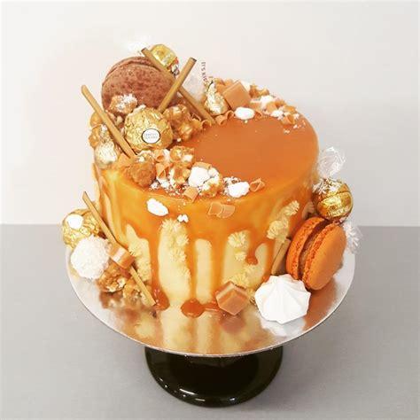 salted caramel drip cake  girl   swing