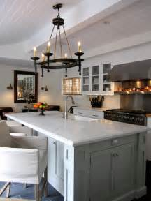 gray kitchen island kitchen with beadboard ceiling transitional kitchen dodson and interior design
