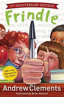 frindle  andrew clements reviews discussion