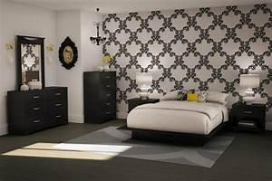 Deco Noir Et Blanc : chambre noire et blanche signification des couleurs et ~ Melissatoandfro.com Idées de Décoration