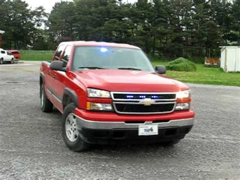 blue lights for firefighters 2006 chevy 1500 firefighters blue lights