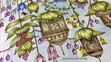 world  flowers  johanna basford prismacolor pencils