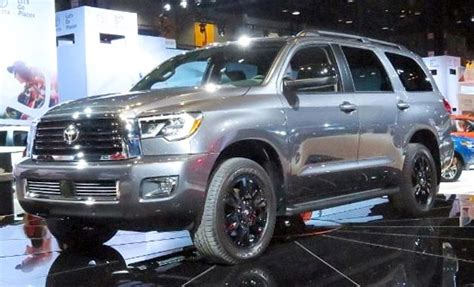 2019 Toyota Sequoia Trd Sport Price And Redesign Toyota
