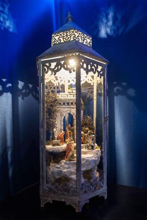 laterne dekorieren weihnachten krippen krippenlaterne der krippen manufaktur bresler nativity weihnachtskrippe