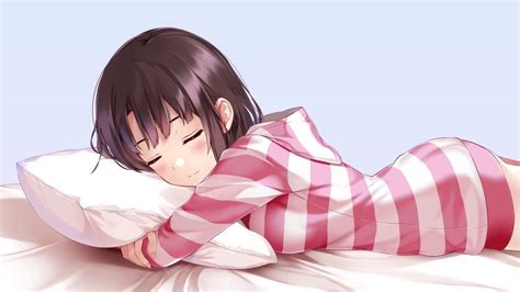 Sodapoppin Animated Wallpaper - adorable anime sleeping animated wallpaper